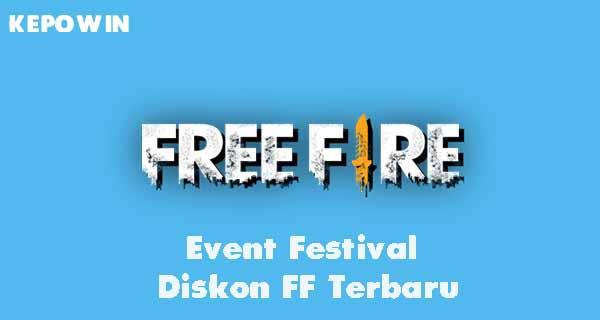 Event Festival Diskon FF Terbaru