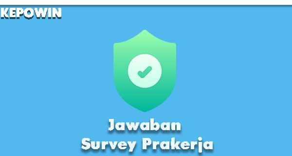 Jawaban Survey Prakerja