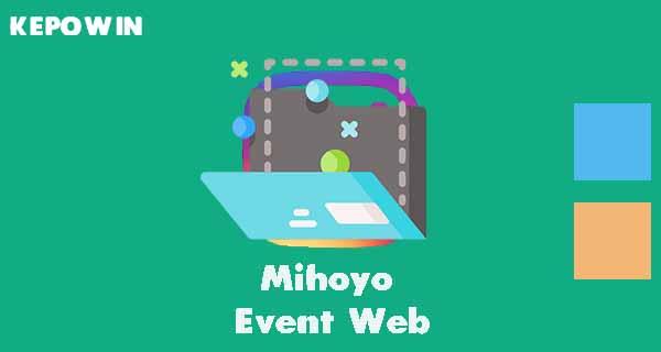 Mihoyo Event Web