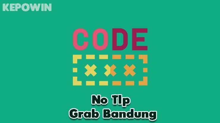 No Tlp Grab Bandung