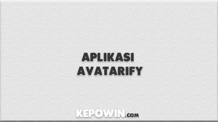 Aplikasi Avatarify