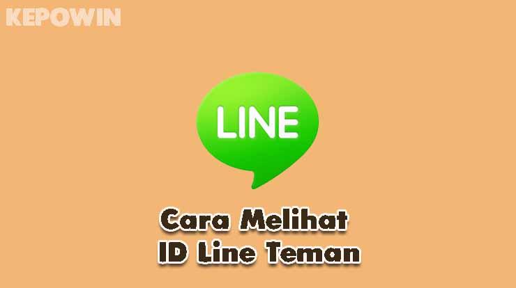 Cara Melihat ID Line Teman