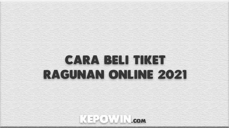 Cara Beli Tiket Ragunan Online 2021