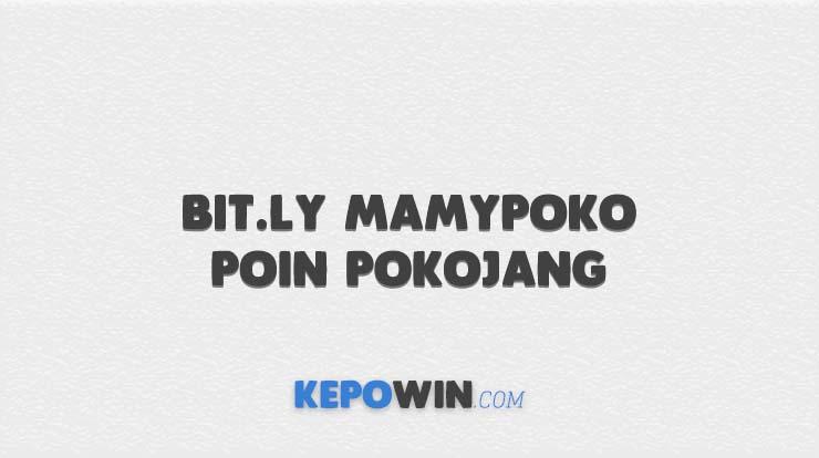 Bit.ly MamyPoko Poin Pokojang