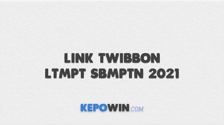 Link Twibbon LTMPT SBMPTN 2021