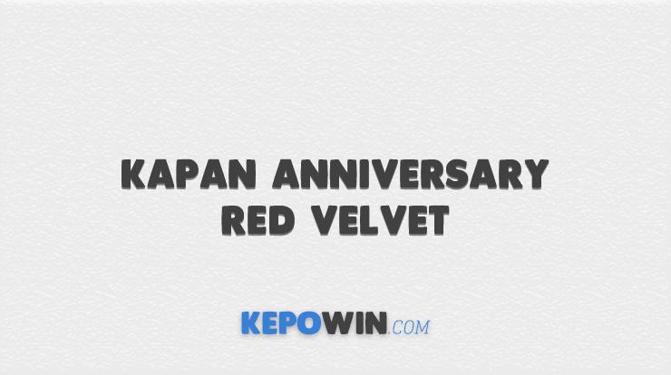 Kapan Anniversary Red Velvet