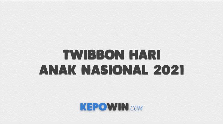 Twibbon Hari Anak Nasional 2021