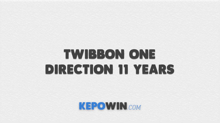Twibbon One Direction 11 Years