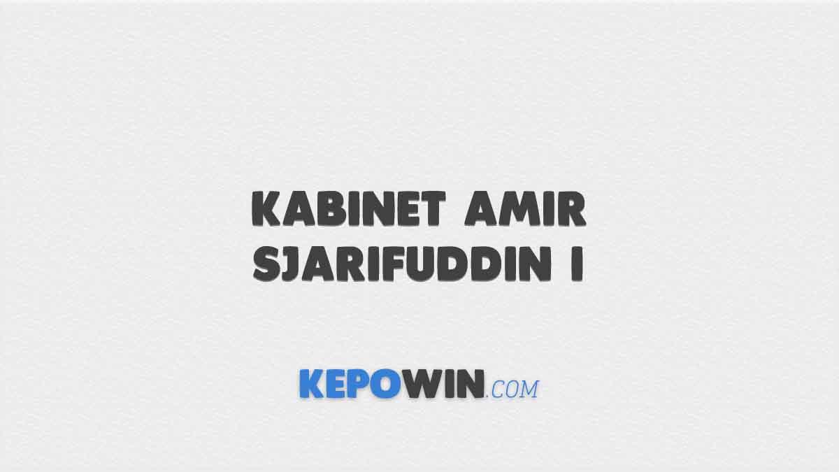 Kabinet Amir Sjarifuddin I