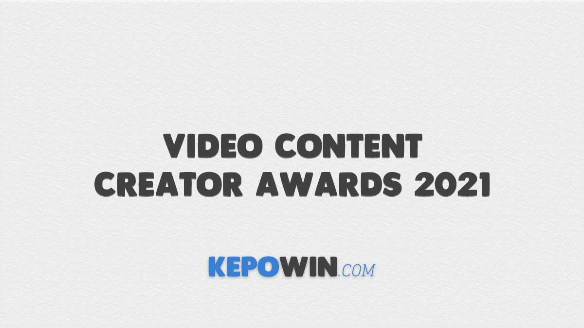 Video Content Creator Awards 2021