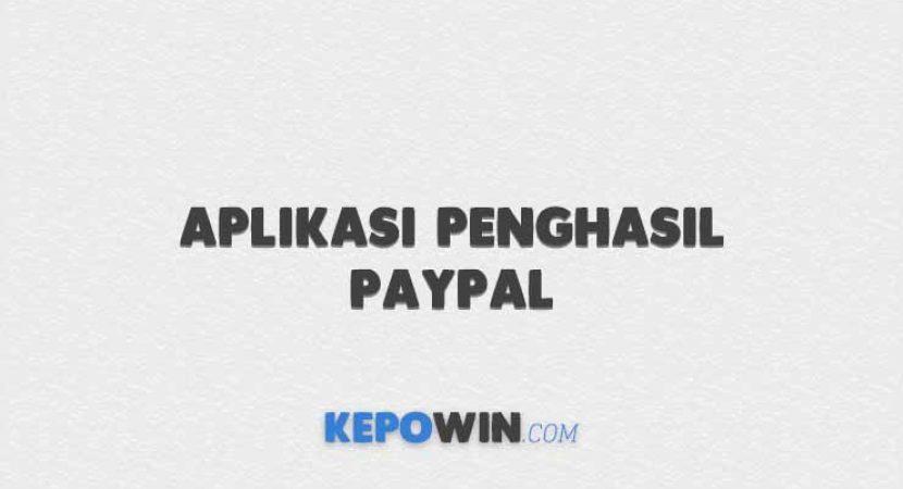 Aplikasi Penghasil PayPal
