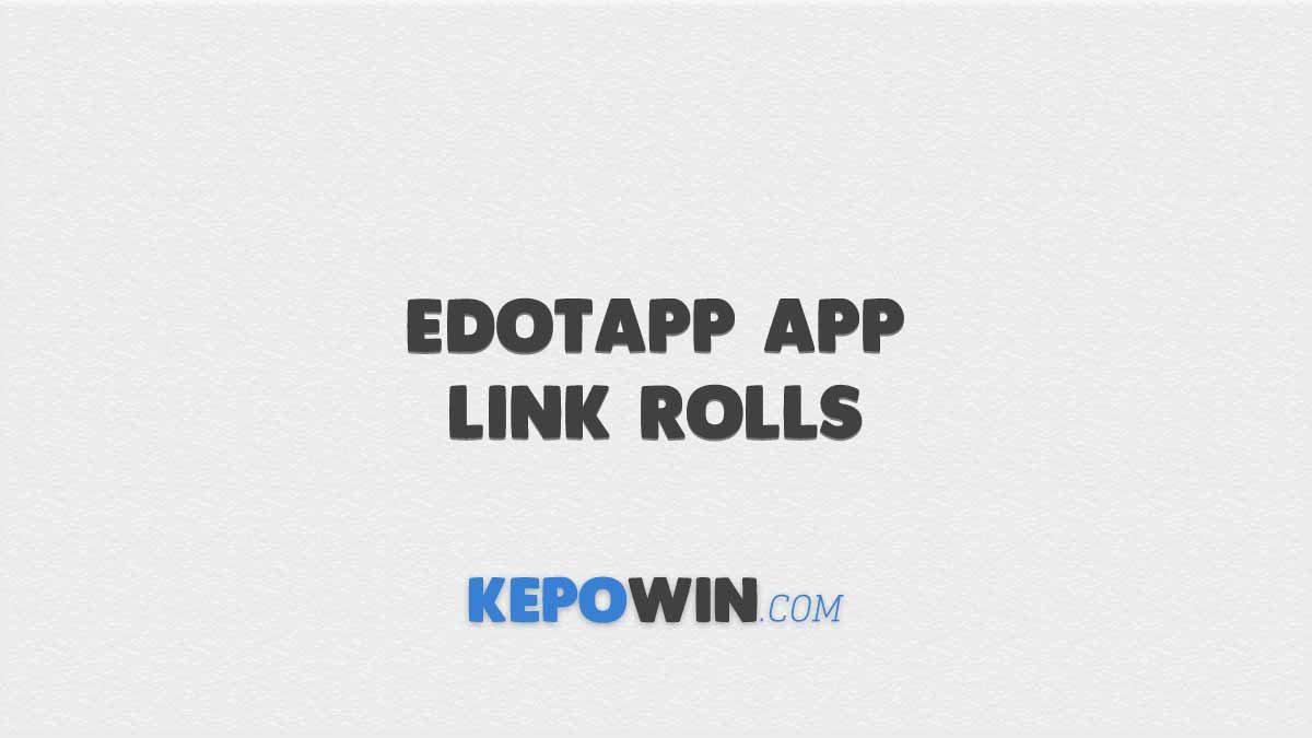 Free Fire Edotapp App Link Rolls: Dapatkan Bundle FF Gratis