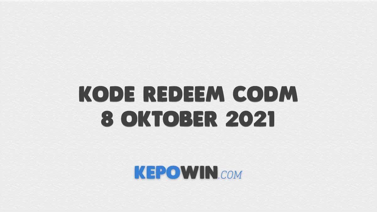 Kode Redeem CODM 8 Oktober 2021